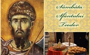 Sărbătoare MARE astăzi. Ce nu ai voie să faci în Sâmbăta Sfântului Teodor