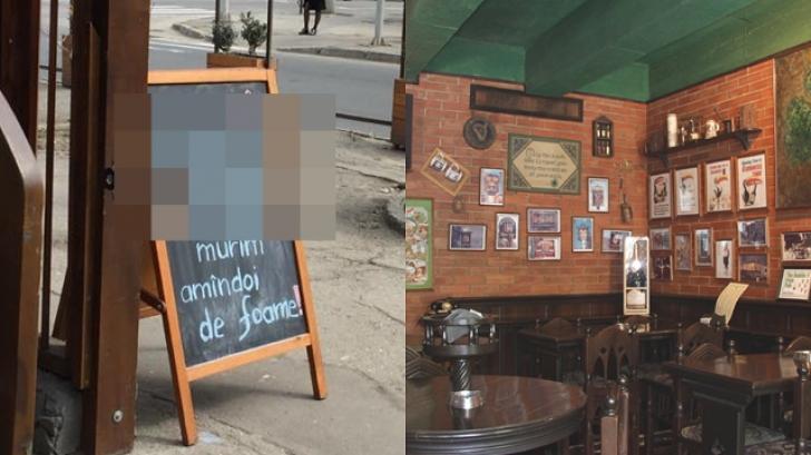 Mesajul scris pe MENIUL unui restaurant din Moldova - toţi se opresc, apoi RÂD
