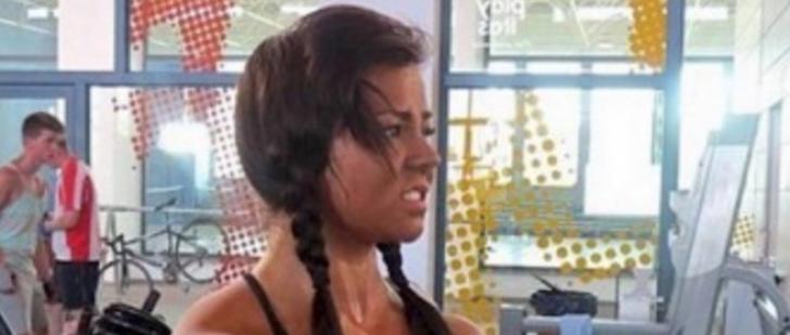 E cea mai sexy brunetă de la sală. Dar când au văzut-o dezbrăcată, bărbaţii au fugit de ea.Cum arată