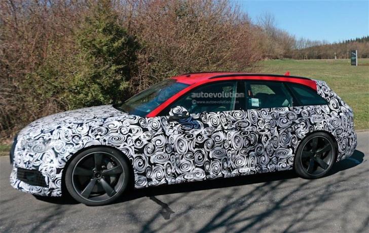 Noua lovitură de la Audi, modelul RS4 Avant, prins camuflat în teste. Cum arată acest super-break