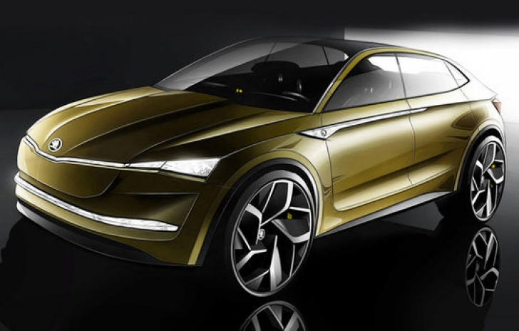 Skoda vine cu cel mai SF model din gama cehilor. Conceptul Vision E, rupt parcă din altă galaxie