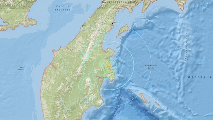 Cutremur de 6,6 pe Richter