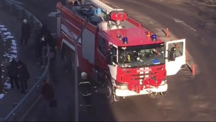 Mașina de pompieri, Moscova