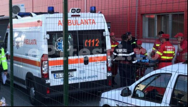 Bărbatul care a intrat cu BMW-ul în curtea unei fabrici și a spulberat șase oameni, REŢINUT