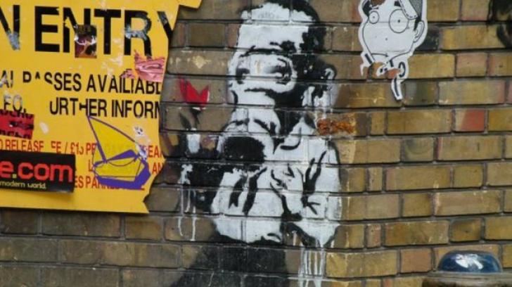 Un graffiti celebru, în valoare de 4,6 milioane de euro, a fost şters din greşeală