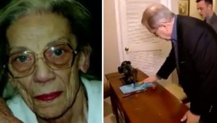 Bătrâna avea un singur nepot. Înainte să moară i-a spus să se uite sub maşina de cusut. Şoc!