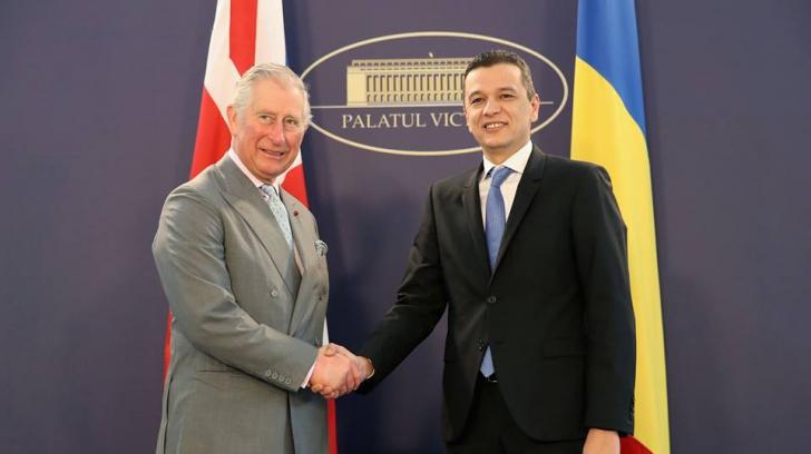 Ultima zi a vizitei lui Charles în România în IMAGINI