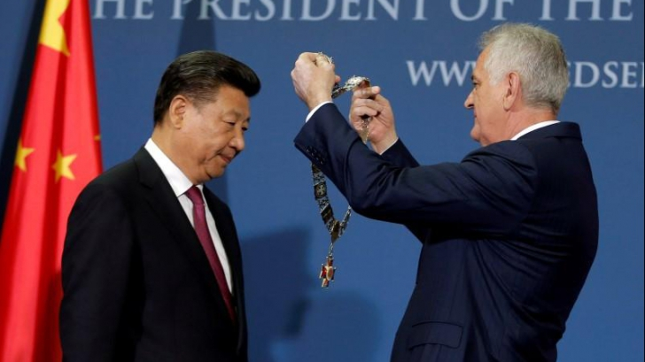 China intră în Europa prin Serbia