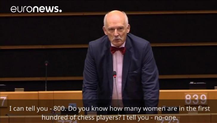 """Declaraţii şoc în Parlamentul European: """"Femeile trebuie să câştige mai puţin decât bărbaţii"""""""