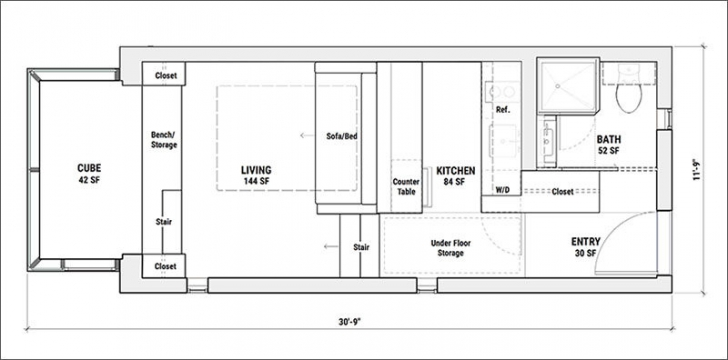Casa de dimensiunile unei garsoniere - ce ŞOC ai când intri în locuinţă. Totul e PERFECT!