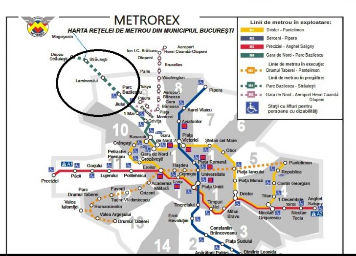Stații noi de metrou: Laminorului și Străulești