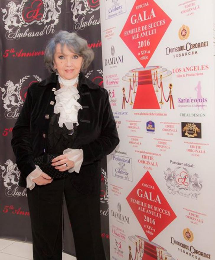 Cât de bine arată Margareta Pâslaru la 73 de ani