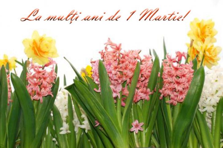 FELICITĂRI 1 Martie. Trimite-le celor dragi o felicitare frumoasă de Mărţişor!