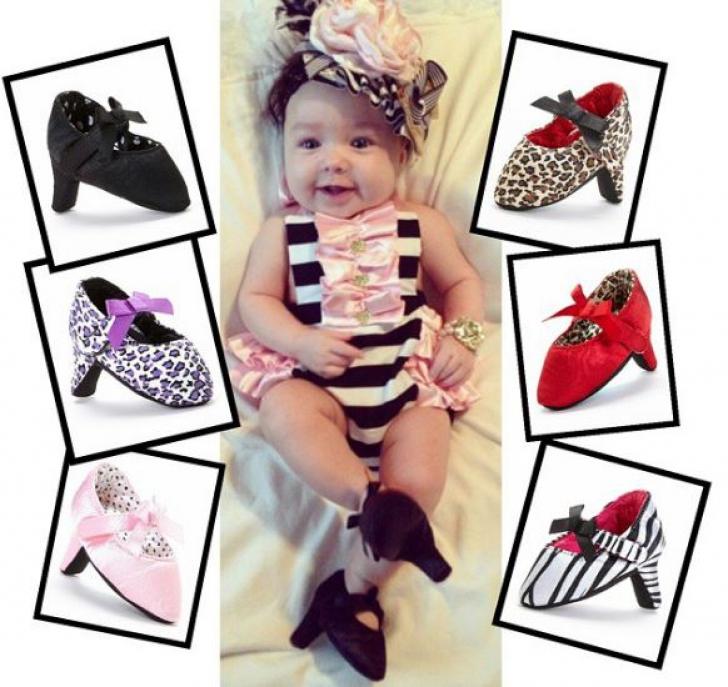 Părinții, revoltați. Au apărut pantofii cu toc pentru bebeluși. Cum arată