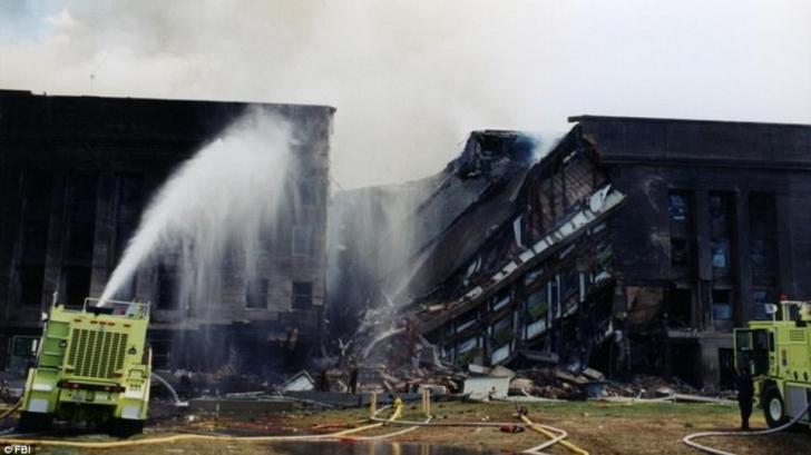 FBI desecretizează fotografii de la atacul din 11 septembrie de la Pentagon după ani de anchete