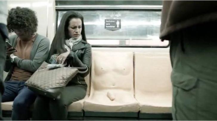 Cel mai ciudat loc din metrou