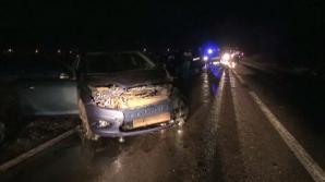 Accident grav provocat de un poliţist pe o şosea din Brăila