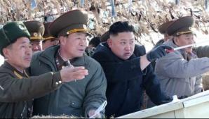 Submarin nuclear al SUA, în coasta lui Kim Jong un