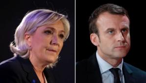 ALEGERI FRANŢA. Emmanuel Macron și Marine Le Pen, în turul 2! EXIT-POLL