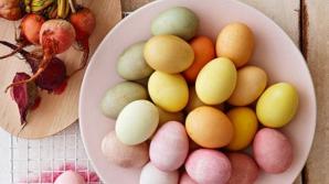 Joia Mare. Cum să vopseşti ouăle de Paşte după metode tradiţionale. Trucuri de pe vremea bunicii
