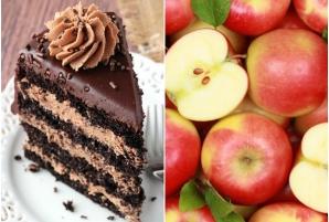 """Nutriţionist: """"Mai bine mâncați o felie de tort decât un kilogram de mere"""". Explicaţia incredibilă!"""