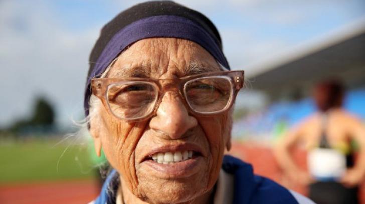 INCREDIBIL! Campioană la sprint la 101 ani