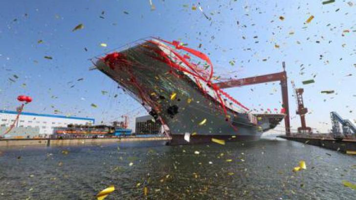 China și-a lansat al doilea portavion
