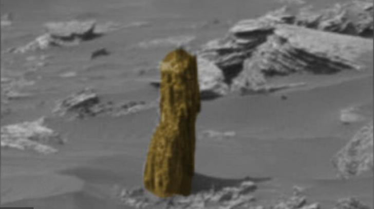 S-a uitat pe o fotografie făcută pe Marte și a înlemnit. Ce a descoperit este INCREDIBIL