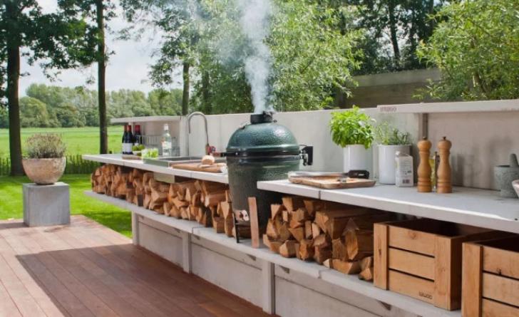 Cele mai frumoase bucătării situate în aer liber