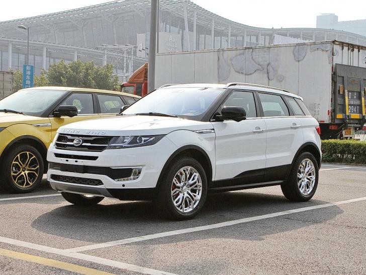 Chinezii, uimitori: copia la Ranger Rover Evoque, construită de ei, se vinde mai bine ca originalul