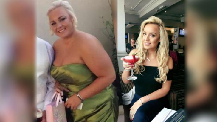Părăsită înainte de nuntă, a slăbit 50 de kg şi a ajuns în finala Miss Anglia