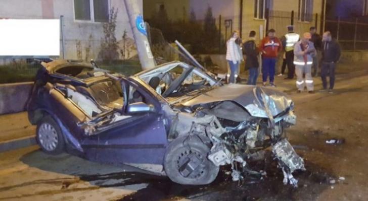ACCIDENT lângă casa din Sibiu a lui Iohannis: o ţeavă de gaze a fost avariată / Foto: Ora de Sibiu
