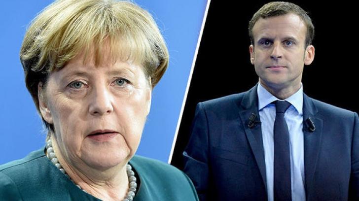 """Angela Merkel, încrezătoare în victoria lui Emmanuel Macron. """"Va fi un preşedinte puternic!"""""""