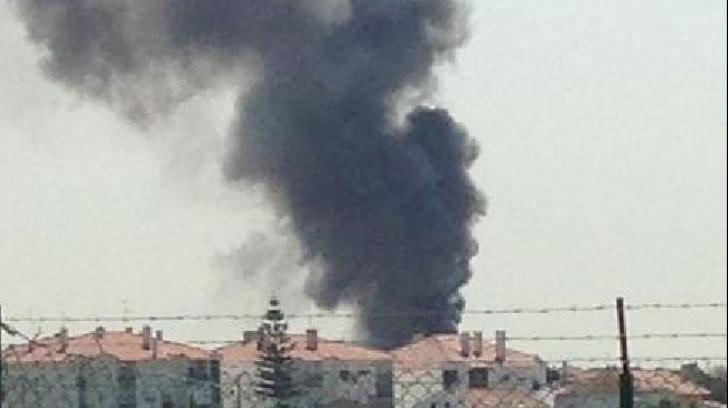 Tragedie în Portugalia. Un avion s-a prăbușit peste un supermarket