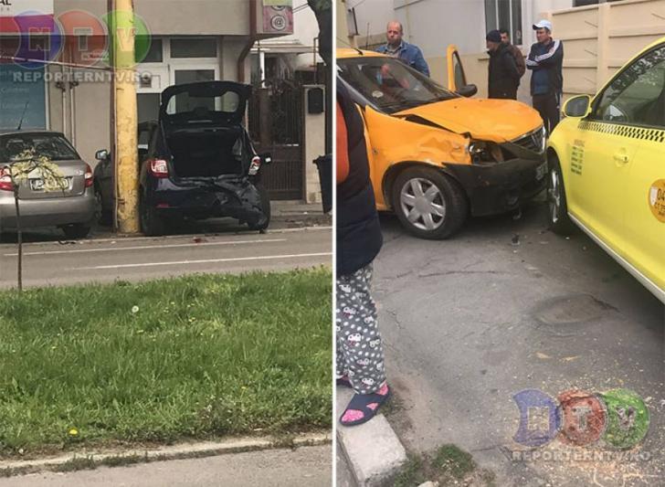 Accident GRAV, la Constanţa - 2 maşini distruse, după ce un şofer a făcut o criză de epilepsie
