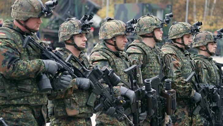 Militar german, ARESTAT. Bărbatul ar fi plănuit un atac terorist