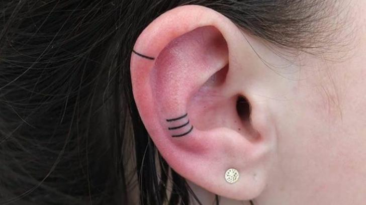Helix, noua tendință în materie de tatuaje. Ți-ai face așa ceva?