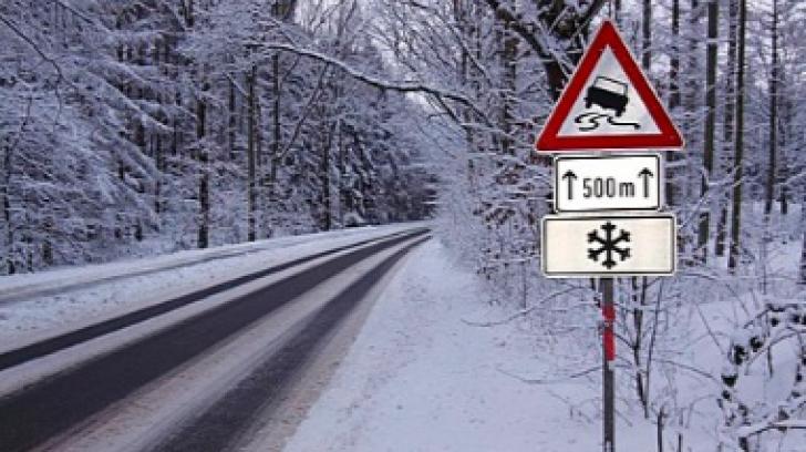 Iarna nu se lasă dusă! COD PORTOCALIU de ninsori abundente şi VISCOL