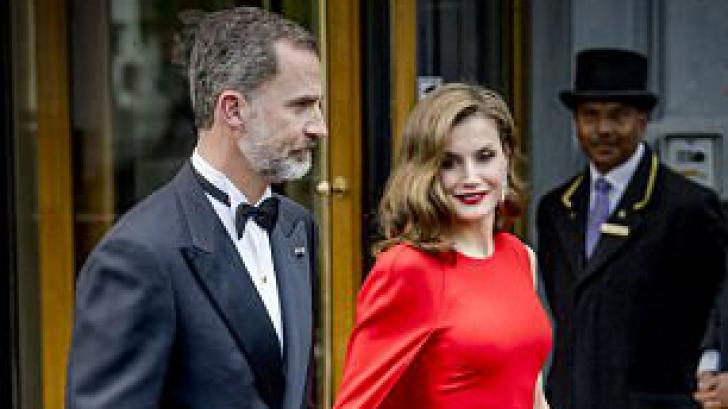 Apariție răvășitoare! Regina Letizia a Spaniei a furat toate privirile la ziua regelui Olandei