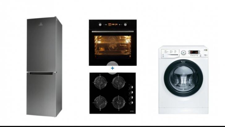 Reduceri eMAG. Top 10 oferte la mașini de spălat, cuptoare plite și frigidere