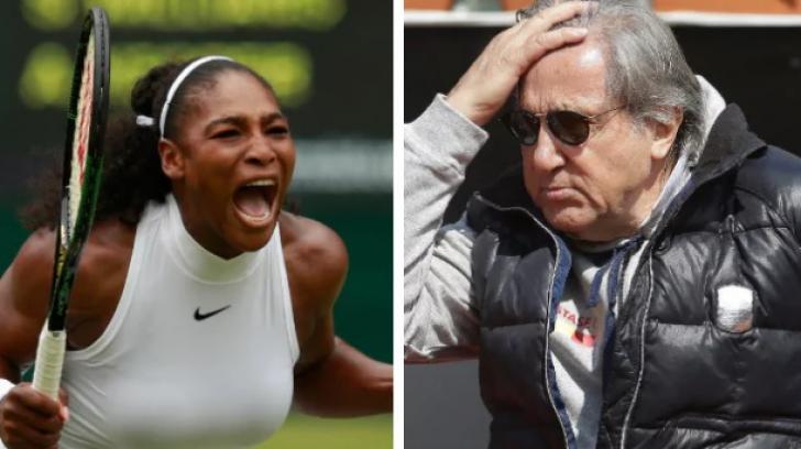 Serena Williams îl atacă din nou pe Ilie Năstase. Nu poate uita cum a jignit-o fostul tenismen român