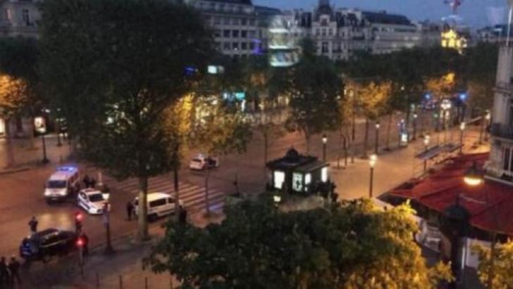 ISIS revendică ATACUL cu armă automată de pe Champs-Elysées. Un polițist și atacatorul, uciși
