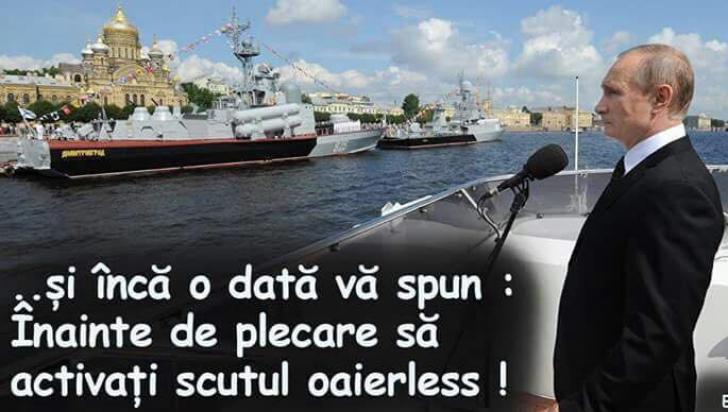Victor Ponta, ironii despre steagul mutat de Iohannis şi vasul cu oi care a scufundat nava rusească