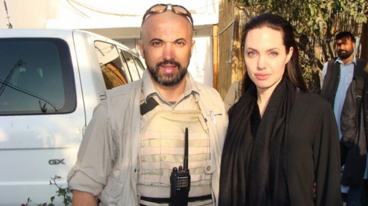 Cătălin Gemănar și Angelina Jolie