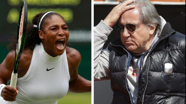 Serena Williams îi răspunde lui Ilie Năstase