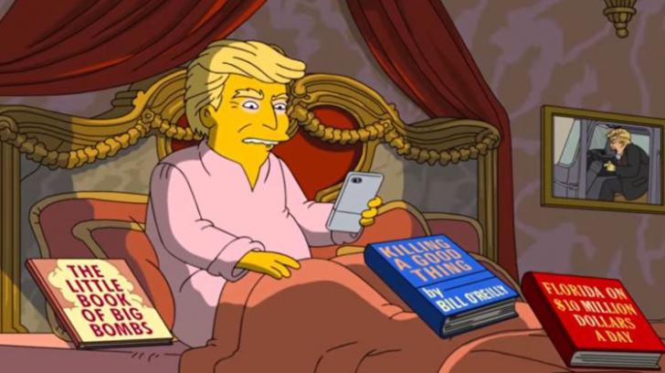 The Simpsons îi face lui Trump bilanţul la 100 de zile de mandat  - e CRUNT dar provoacă zâmbete!