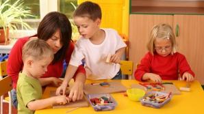 Reînscrierile în învățământul preșcolar vor începe luni