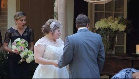 Nunta La Care Toţi Ochii Nu Au Fost Pe Mireasă în Timpul Ceremoniei