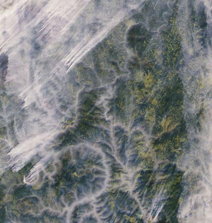 Un satelit a surprins un fenomen înspăimântător petrecut în estul extrem al Rusiei