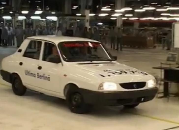 Cum arată ultimul model Dacia 1310, care a ieşit pe porţile uzinei de la Mioveni. Oamenii au PLÂNS